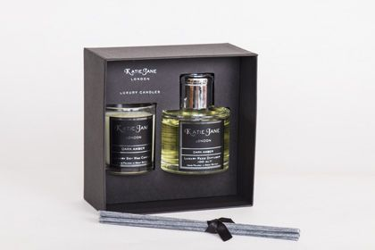 Katie Jane Scented Votive &  Reed Diffuser 100 ml Gift Set